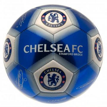 Chelsea FC Football with Signatures